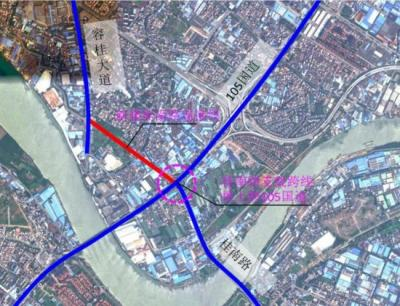 工期15个月!G105国道容桂南头路口立交改造工程动工