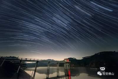 镜头对话这座城|他拍到了佛山最美的星空