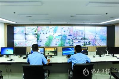 高明區智能交通首期項目目前已進入試運行階段