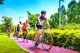 世界冠军助力!环最新注册送体验金平台绿色骑行形象大使亮相