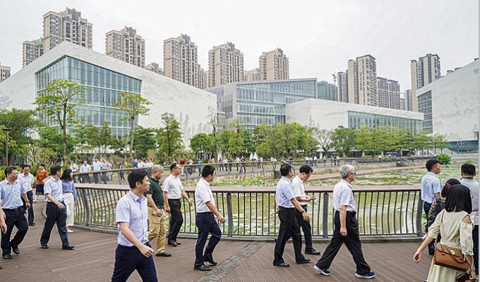 朱伟带队巡查9个城市治理项目 惊喜不断