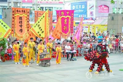 龍獅小子熱鬧爭霸!禪城區青少年醒獅和舞龍錦標賽收官