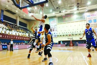 2019广东省男篮联赛美高梅在线娱乐开幕!揭幕战美高梅在线娱乐队主场开门红