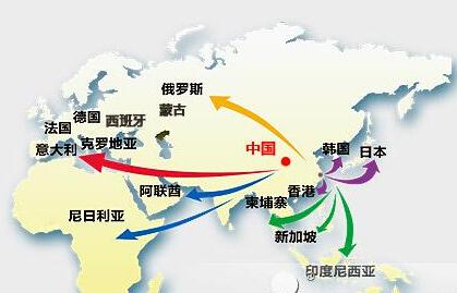 """我国与""""一带一路""""沿线国家和地区服务进出口额超1200亿美元"""
