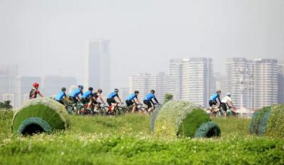 火 !环美高梅娱乐官网绿色骑行100公里挑战组名额1小时抢空