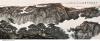 招钜中国画作品展在市石景宜艺术馆举行