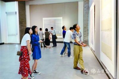 北滘:北京畫院方政和師生作品展開幕