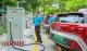 佛山首个出租车驿站启用 车辆可充电!解司机难题!