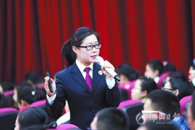 高明区检察院王文婷:护航青少年成长的引路明灯