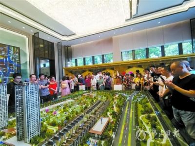 6月鸿运国际欢迎你新房成交120.74万㎡  高性价比刚需盘最热销