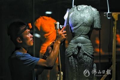 佛山雕塑家蚁潮:专注源于热爱