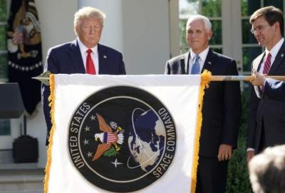 特朗普正式宣布建立美國太空司令部
