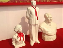 全国红色陶瓷雕塑收藏精品展举行  43件石湾陶受青睐