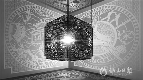 佛山剪紙文化創意設計大賽《武術·佛山》獲一等獎