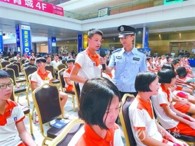 禅城开展网络安全宣传活动 市民体验诈骗手法被吓一跳