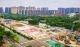 廣州地鐵7號線西延順德段最大車站北滘新城站主體結構封頂