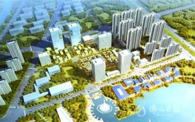 高明西江产业新城新添一智慧家园