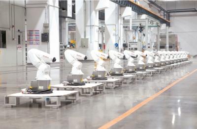 佛山產業新名片:全國每生產銷售50臺機器人 就有1臺來自順德