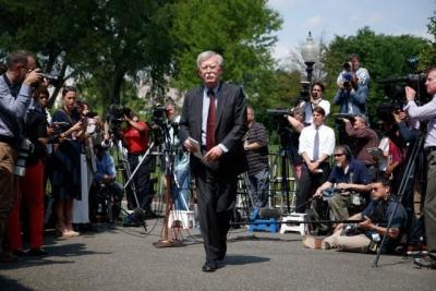 """特朗普""""炒掉""""第三任美國國家安全事務助理博爾頓"""