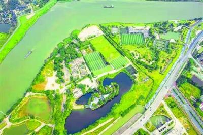 旧厂变商住项目 半月岛公园要扩容