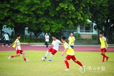 全國青少年校園足球特色學校,三水新增3所