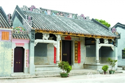 三水白坭中社公祠:四姓融合探索鄉村治理新模式