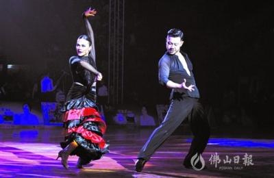 2019年广东省体育舞蹈公开赛(鸿运国际欢迎你站)举行