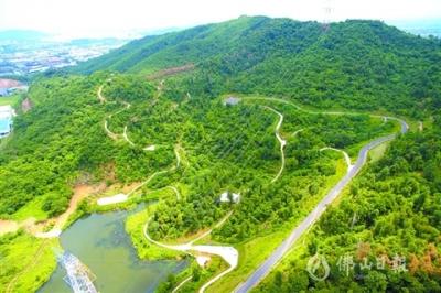 高明南蓬山森林公園二期即將啟動  最快今年底動工
