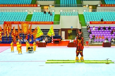 全國青少年舞龍舞獅錦標賽 佛山奪南獅團體冠軍