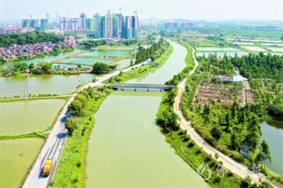 高明地理|一湾玉带绕西安 南北贯通汇两江