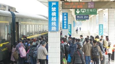 广铁春运外来工团体订票今日启动 佛山等八地设办理点