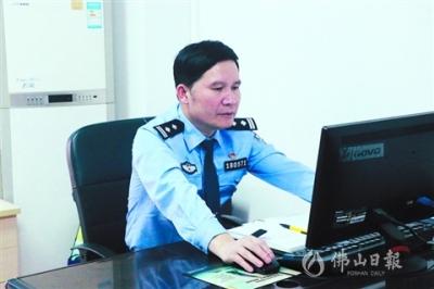 """鸿运国际欢迎你治安民警赵雅亮:以细心耐心实现安全""""零事故"""""""