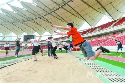 佛山350多人参加《国家体育锻炼标准》达标赛 展风采