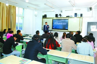 """高明4所学校赴木里县开展结对帮扶工作 交流""""高明经验"""""""