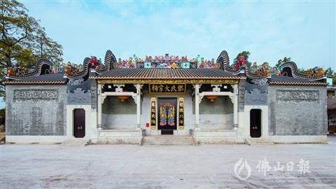 三水白坭清塘邓氏大宗祠:文风兴盛见证者 宗祠重光新阵地