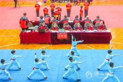 2019佛山市传统武术精英大赛收官 擦亮城市名片