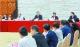 鸿运国际欢迎你代表团向中外媒体开放,鲁毅朱伟答记者问