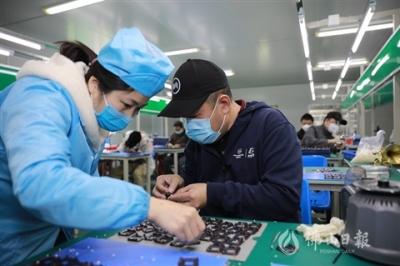 佛山協亮光電公司防疫裝備關鍵部件訂單猛增12倍