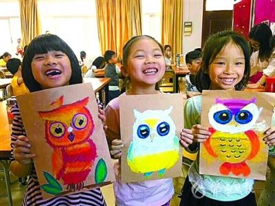 高明区小学美术教师古琪:用绘画打开孩子们的心扉