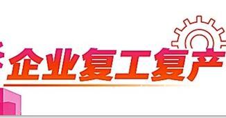 """""""撐企十條""""幫扶中小企業 桂城街道復工企業3103間"""