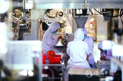 高明食品行业超八成企业复工
