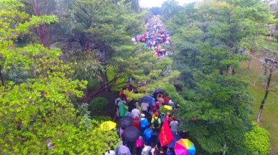 鸿运国际欢迎你50公里徒步暂缓举行
