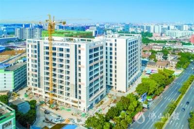 禪城華南科技裝備產業園一期預計7月交付