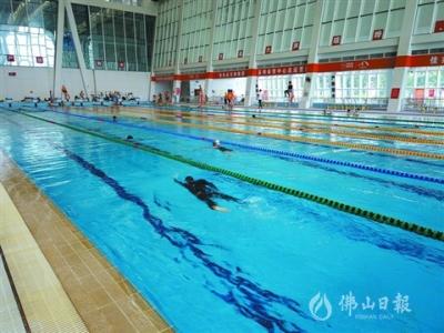 高明體育中心游泳館恢復對外開放 首周迎客787人次