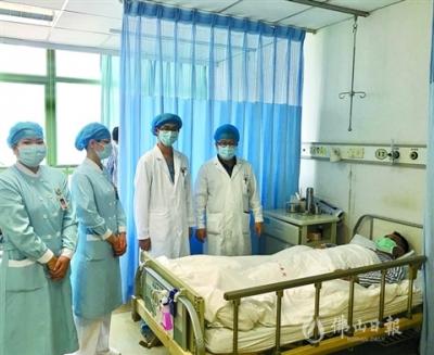 佛山市一醫院成功為患者摘除泌尿系統腫瘤