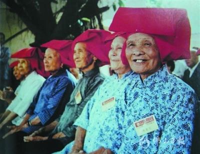 三水红头巾 永不飘逝的回忆