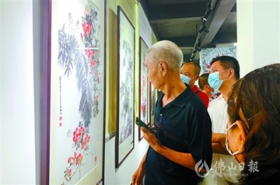 三水锦云轩美术馆开馆  场馆及展览免费开放