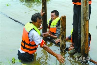 長江干流大通站以上已過洪峰  大通站以下逼近1998年最高水位