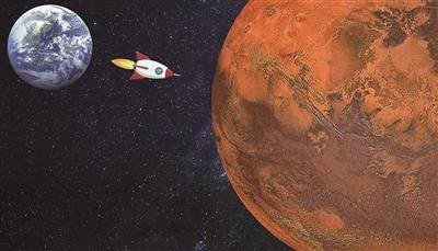 天问一号奔火满月  已飞离地球900多万公里
