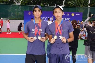 時隔15年,佛山網球隊再獲省錦標賽金牌!